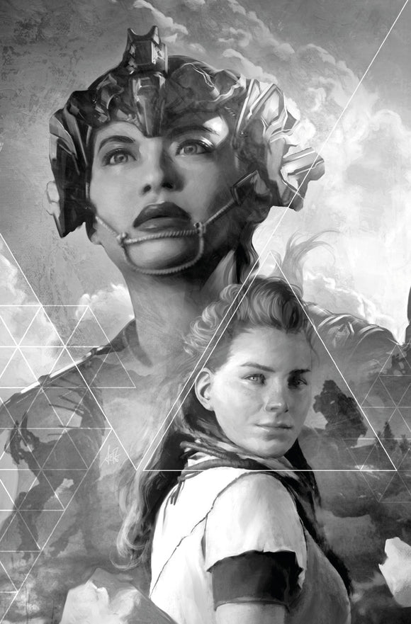 Horizon: Zero Dawn (2020) # 2 Cover D Artgerm B&W Virgin Variant