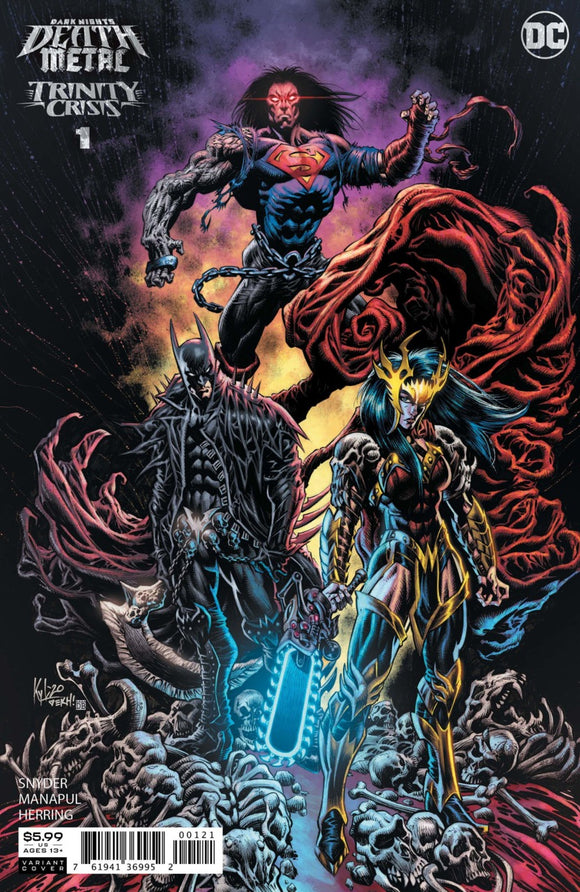 Dark Nights: Death Metal - Trinity Crisis (2020) #1 Kyle Hotz Variant