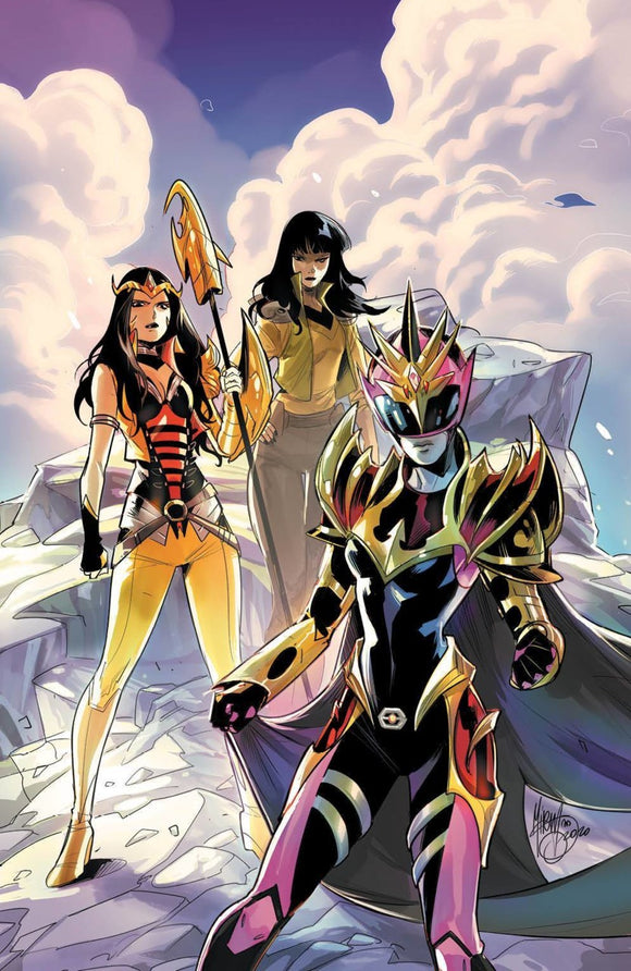 Power Rangers Drakkon: New Dawn (2020) #2 (of 3) Mirka Andolfo Virgin Variant