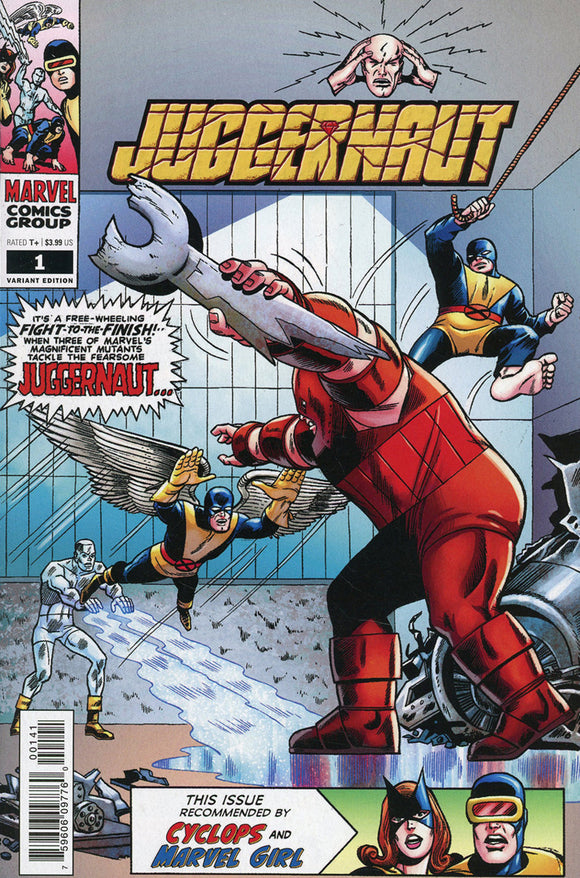 Juggernaut (2020) #1 (of 5) Werner Roth Hidden Gem Variant