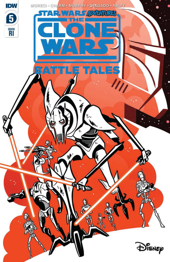 Star Wars Adventures: The Clone Wars-Battle Tales (2020) #5 (of 5) RI Variant