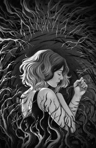 Buffy the Vampire Slayer: Willow (2020) #4 Jen Bartel B&W Variant