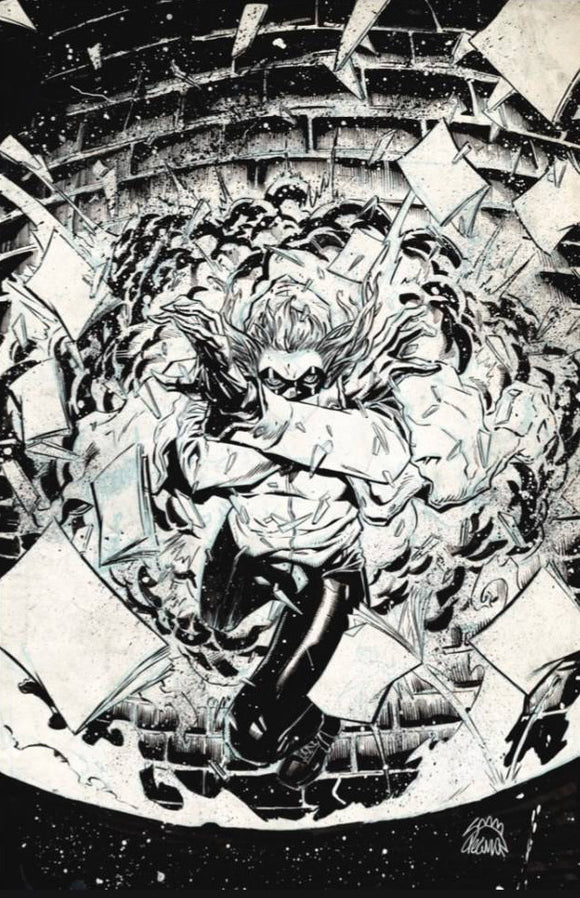 Crossover (2020) # 1 Ryan Stegman 1:100 B&W Virgin Variant