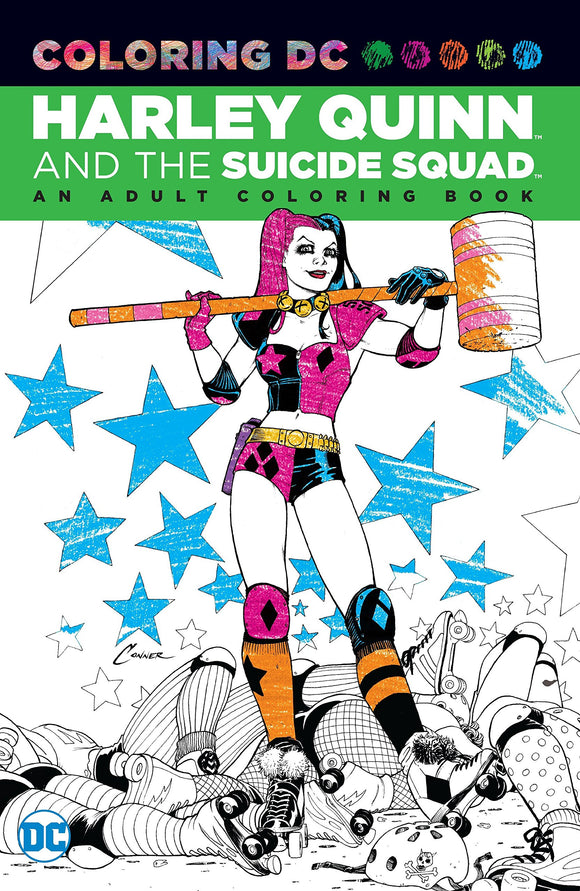 Harley Quinn and the Suicide Squad: An Adult Coloring Book