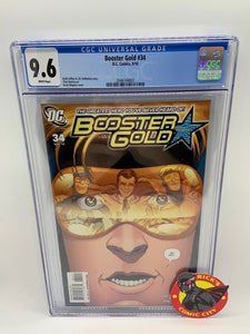 Booster Gold (2007) #34 CGC Graded 9.6