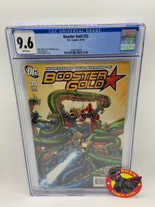 Booster Gold (2007) #35 CGC Graded 9.6