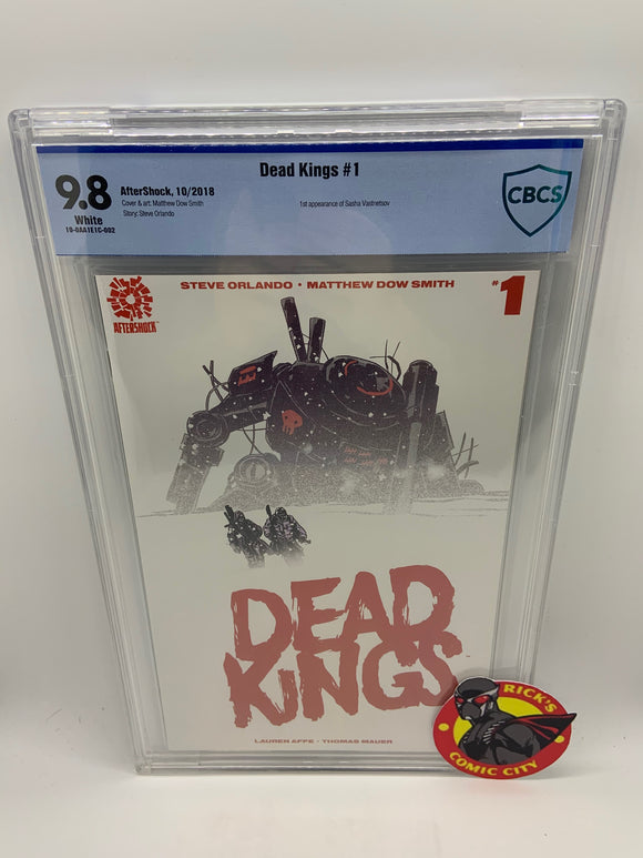 Dead Kings (2018) #1 CBCS Graded 9.8