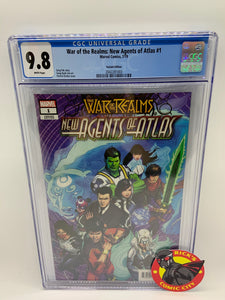 War of the Realms: New Agents of Atlas (2019) #1 (of 4) Patrick Zircher Variant CGC Graded 9.8