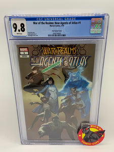 War of the Realms: New Agents of Atlas (2019) #1 (of 4) Pyeongjun Park Variant CGC Graded 9.8
