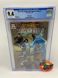 War of the Realms: New Agents of Atlas (2019) #1 (of 4) Pyeongjun Park Variant CGC Graded 9.4