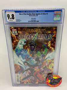 War of the Realms: New Agents of Atlas (2019) #2 (of 4) Ron Lim Variant CGC Graded 9.8
