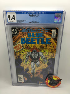 Blue Beetle (1986) #13 CGC Graded 9.4