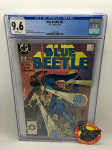 Blue Beetle (1986) #17 CGC Graded 9.6