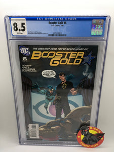 Booster Gold (2007) # 6 CGC Graded 8.5