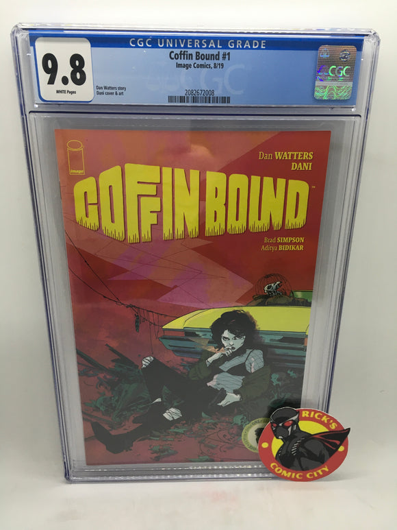 Coffin Bound (2019) # 1 CGC Graded 9.8