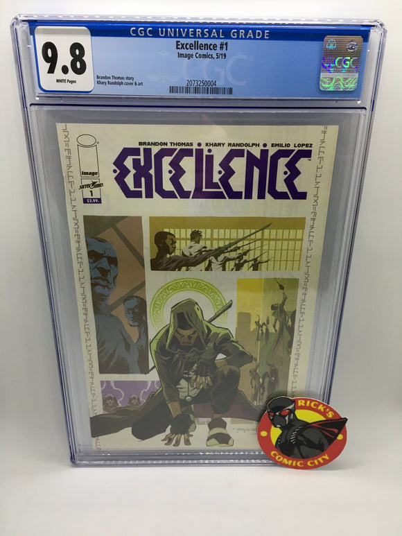 Excellence (2019) # 1 CGC Graded 9.8