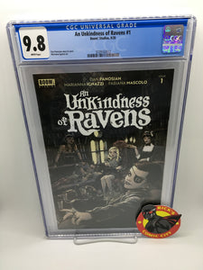 An Unkindness of Ravens (2020) #1 (of 5) CGC Graded 9.8