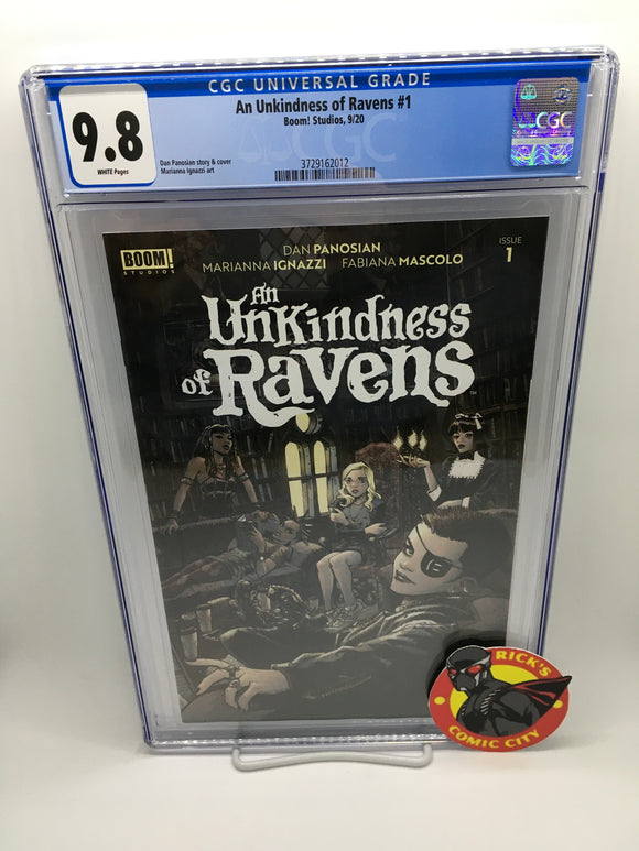 An Unkindness of Ravens (2020) #1 (of 4) CGC Graded 9.8