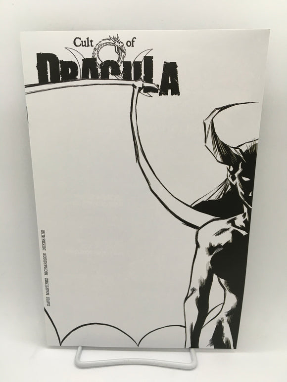 Cult of Dracula (2020) #1 Rick's Comic City Store B&W Variant
