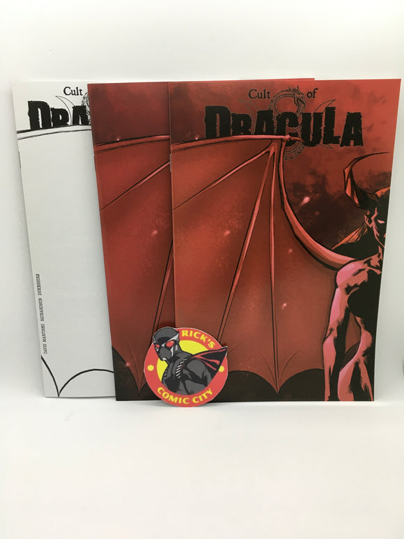 Cult of Dracula (2020) #1 Rick's Comic City Variant 3-Comic Value Pack