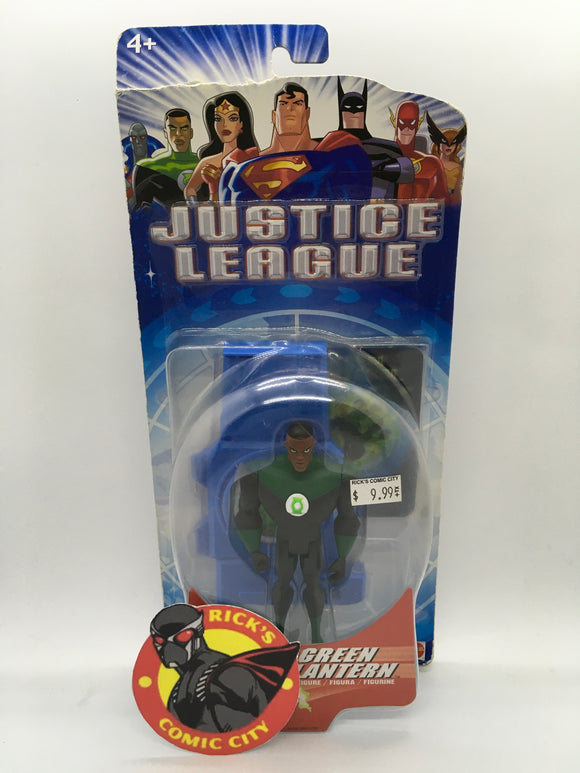 Justice League Animated Mattel Action Figure: Green Lantern