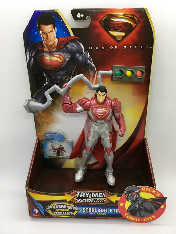 Man of Steel Movie Mattel Action Figure: Superman Stoplight Strike