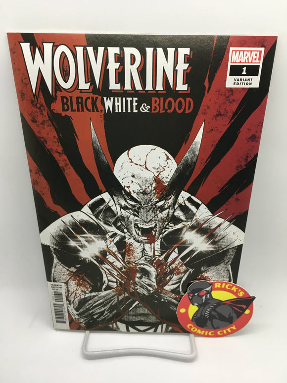 Wolverine: Black, White & Blood (2020) #1 (of 4) Tony Daniel Variant