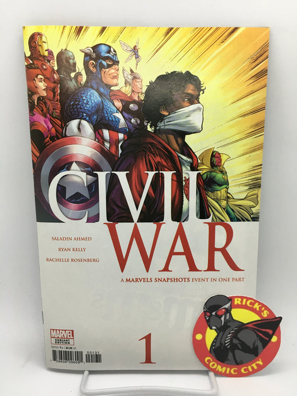 Civil War: Marvels Snapshots (2020) #1 Ryan Kelly Homage Variant