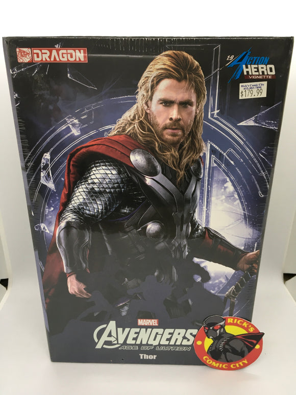 Avengers: Age of Ultron Thor 1/9th Scale Dragon Action Hero Vignette
