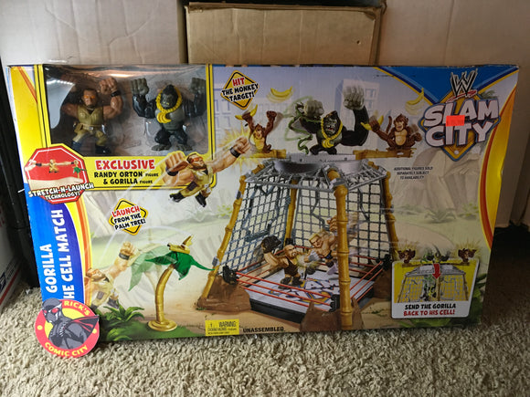 WWE Slam City: Gorilla in the Cell Match Playset