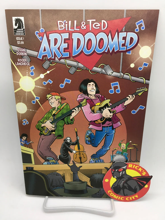 Bill & Ted Are Doomed (2020) #1 (of 4) Cover B