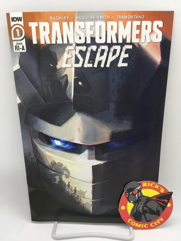 Transformers: Escape (2020) #1 (of 4) Sara Pitre-Durocher Variant