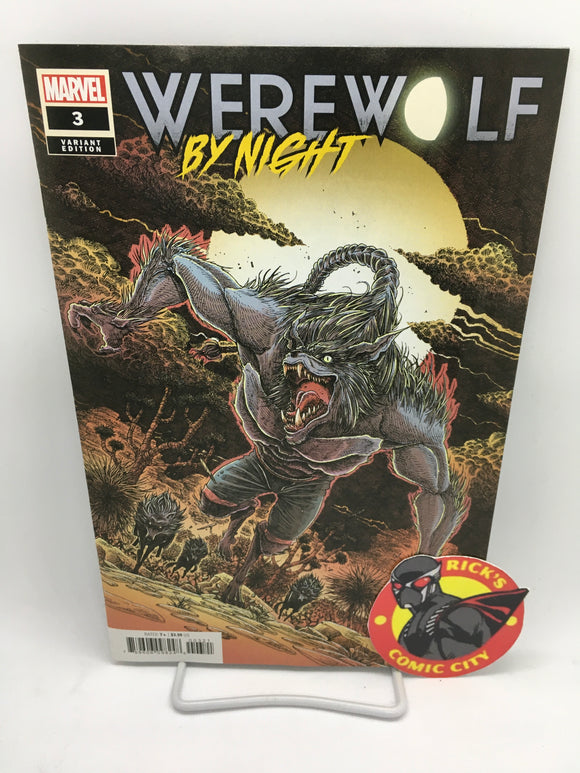 Werewolf by Night (2020) #3 (of 4) James Stokoe Variant