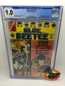 Blue Beetle (1967) # 2 CGC Graded 9.0