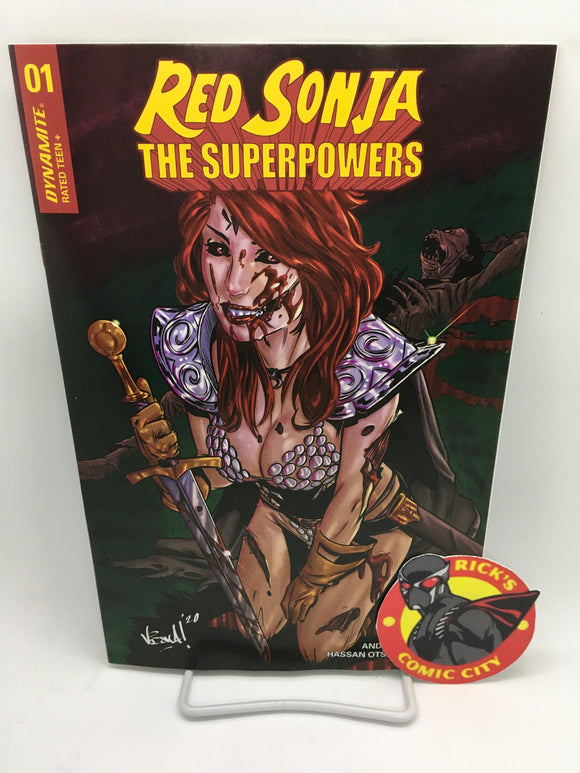 Red Sonja: The Superpowers (2021) # 1 Vincenzo Federici Variant