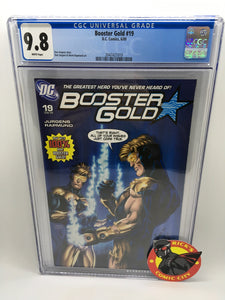 Booster Gold (2007) #19 CGC Graded 9.8
