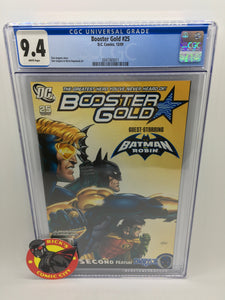 Booster Gold (2007) #25 CGC Graded 9.4