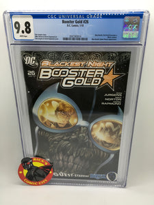 Booster Gold (2007) #26 CGC Graded 9.8