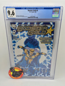 Booster Gold (2007) # 0 CGC Graded 9.6