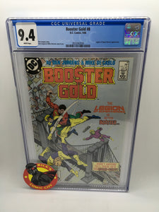 Booster Gold (1986) # 8 CGC Graded 9.4