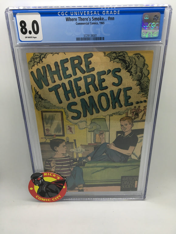Where There's Smoke (1965) #1 CGC Graded 8.0