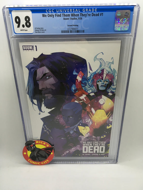 We Only Find Them When They're Dead (2020) # 1 (2nd Print) CGC Graded 9.8