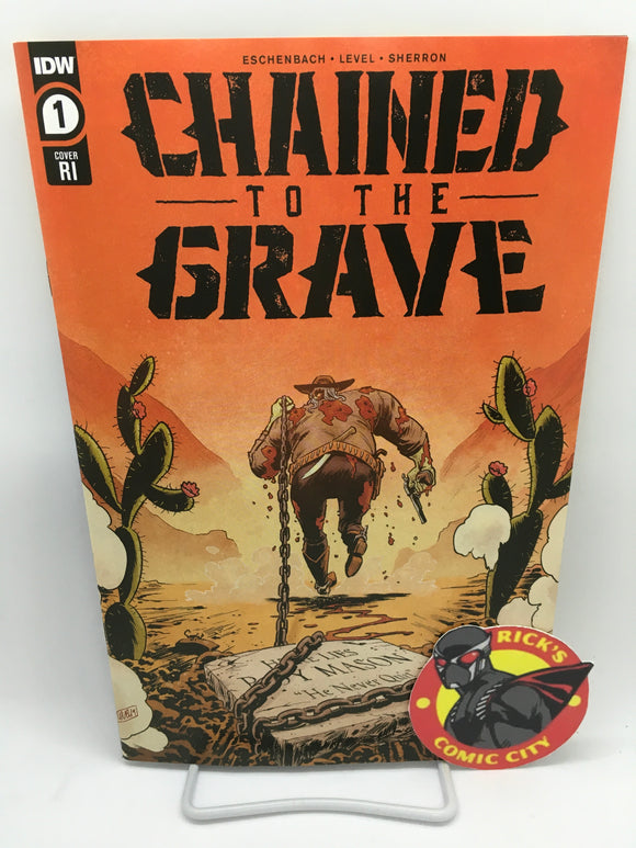 Chained to the Grave (2021) #1 (of 5) Brian Level Variant