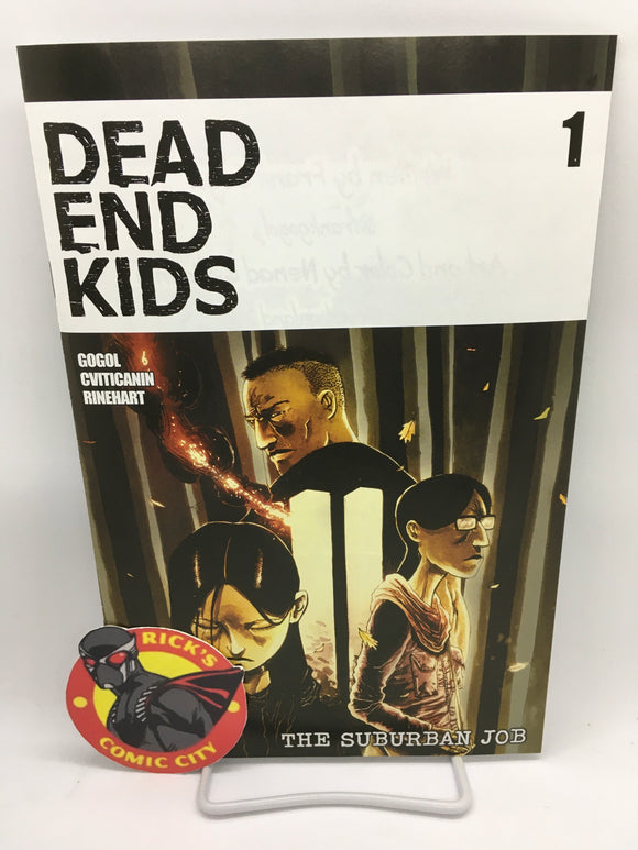 Dead End Kids: The Suburban Job (2021) #1 (of 4) Ben Templesmith Variant