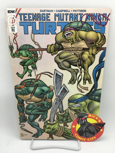 Teenage Mutant Ninja Turtles (2011) #113 Matt Lesniewski Variant