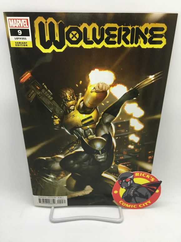 Wolverine (2020) # 9 Ryan Brown Variant