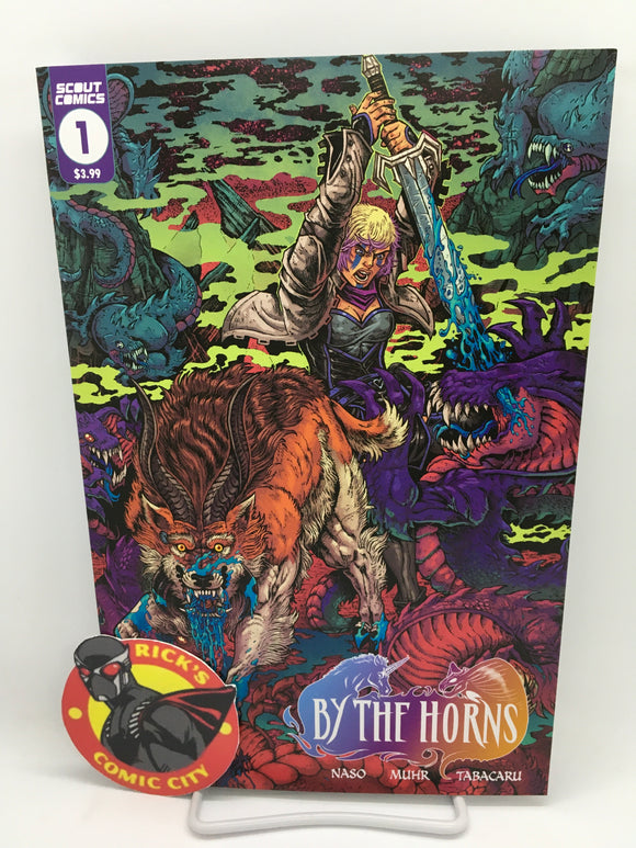 By the Horns (2021) #1 (of 6) Maria Lopez Variant