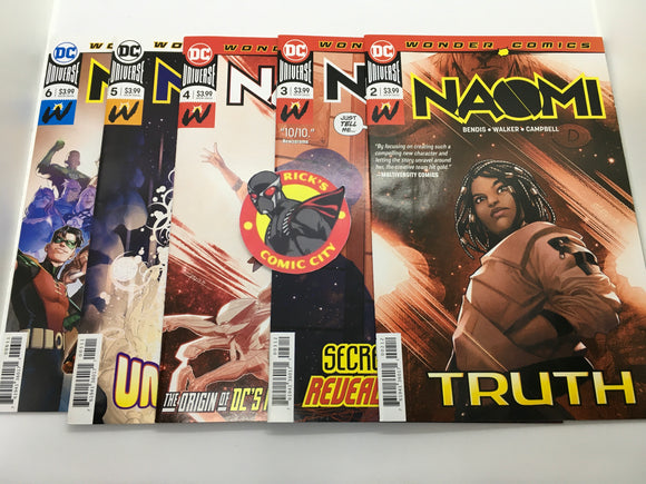 Naomi (2019) #2-6 Value Bundle (1st & 2nd Prints)
