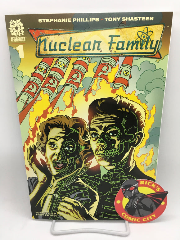 Nuclear Family (2021) #1 Tony Harris Variant