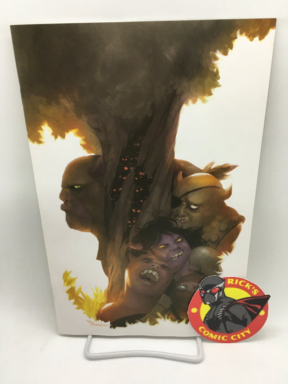 Orcs! (2021) #1 (of 6) Miguel Mercado Virgin Variant